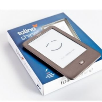 TOLINO SHINE, electronic book reader, built-in light, WiFi, e-ink ebook, touch screen, 1024*768 6 inch, le